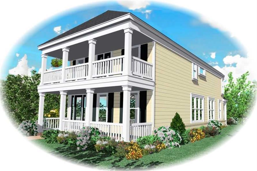 Main image for house plan # 10060