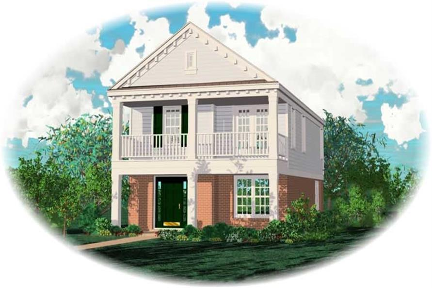 Main image for house plan # 10036