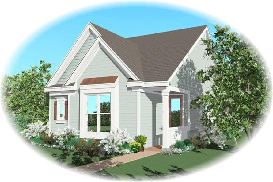 Main image for house plan # 10223