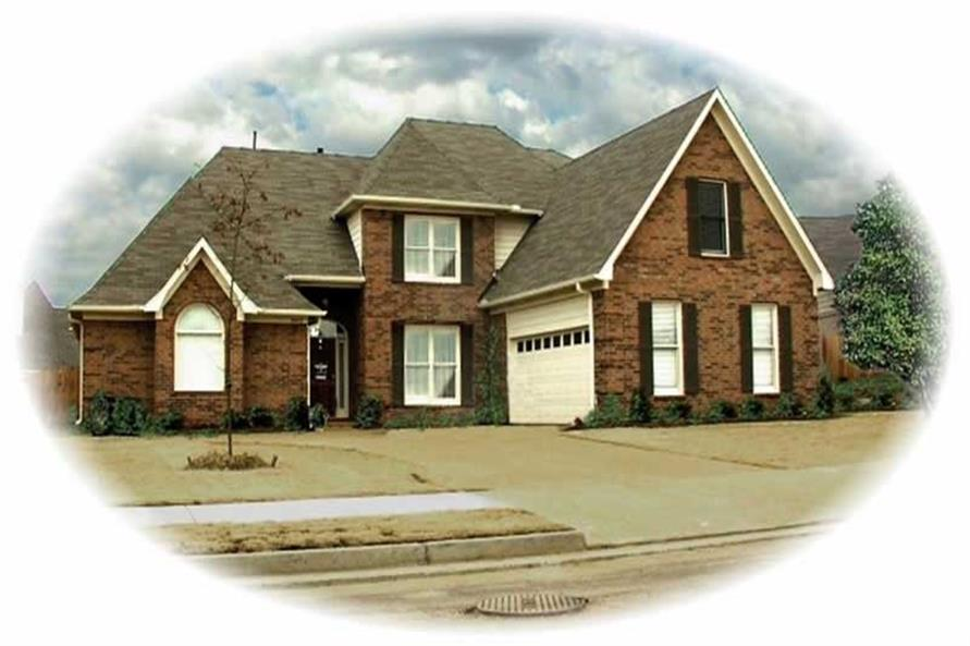 Main image for house plan # 10519