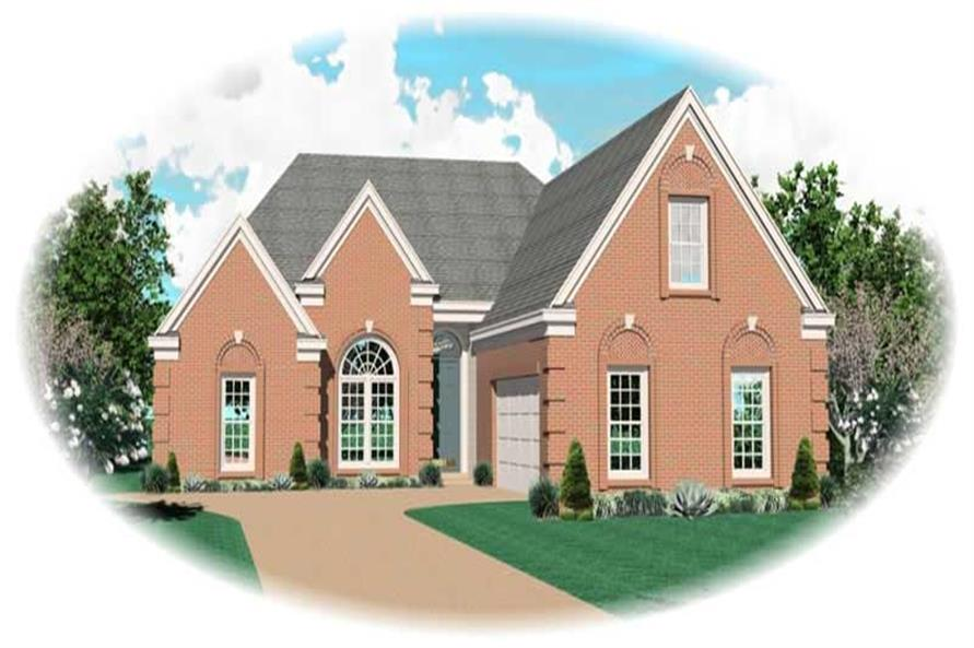 Main image for house plan # 10475