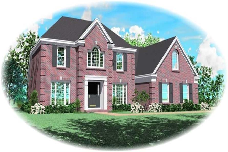 Main image for house plan # 10405