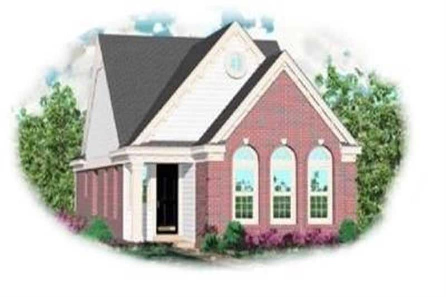 Main image for house plan # 8269