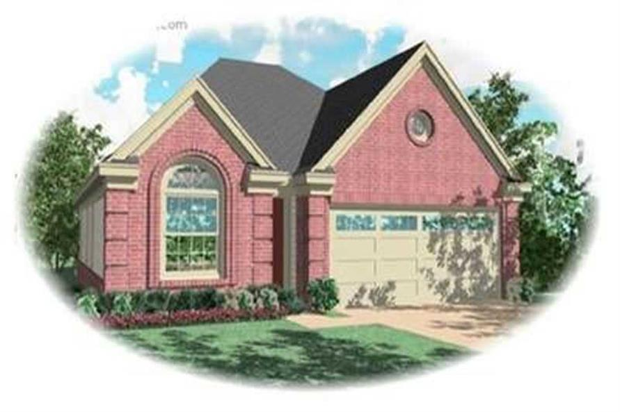 Main image for house plan # 8270