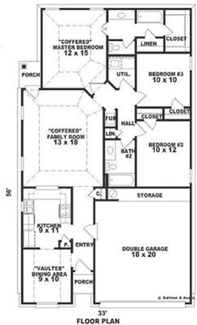 Traditional, Bungalow House Plans - Home Design SU1654 # 8270