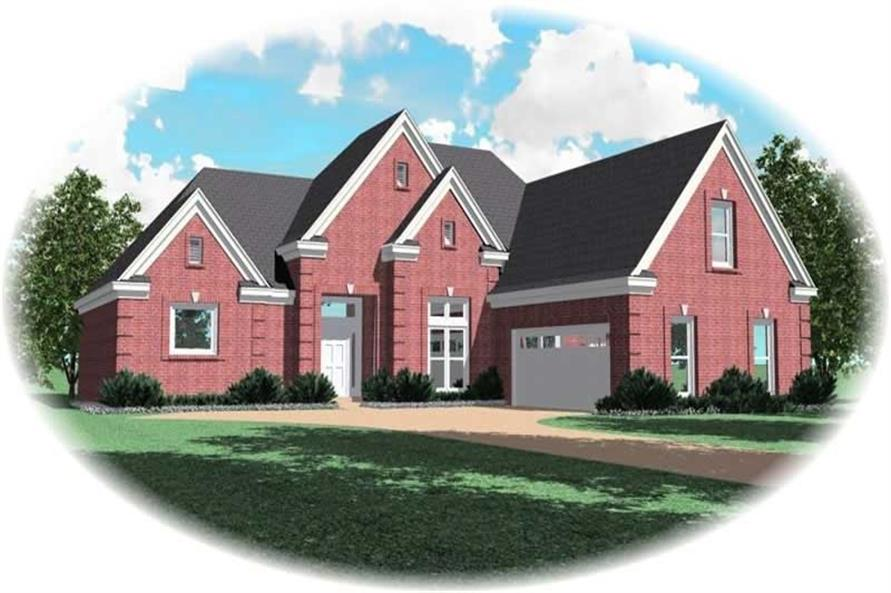 Main image for house plan # 10530