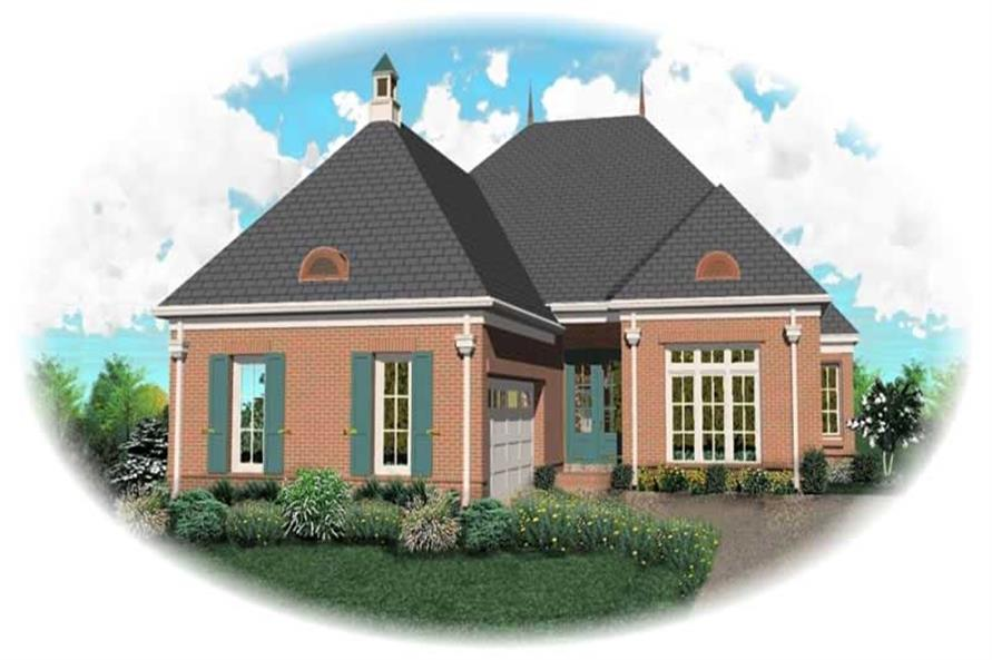 Main image for house plan # 10539