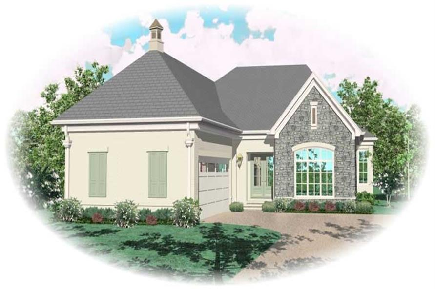 Main image for house plan # 10538