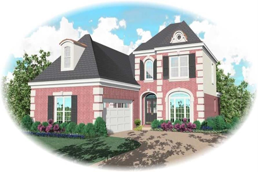 Main image for house plan # 10489