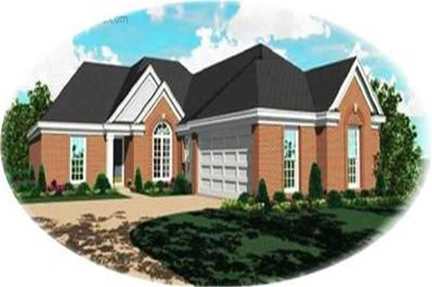 Main image for house plan # 8348