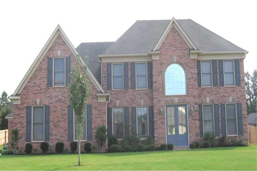 4-Bedroom, 2727 Sq Ft Southern Home Plan - 170-3083 - Main Exterior