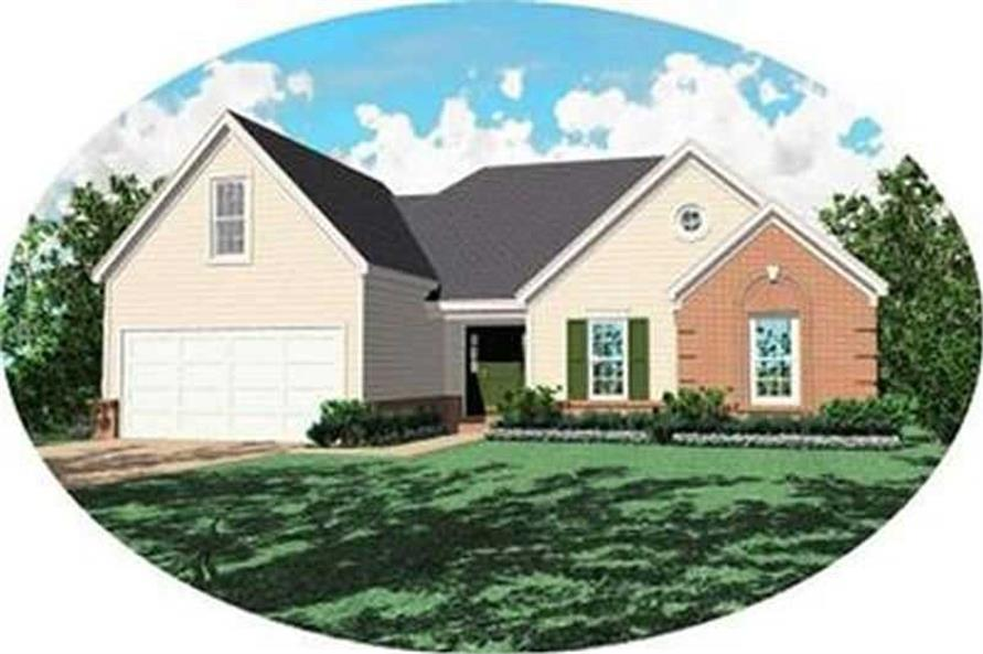 Main image for house plan # 8319