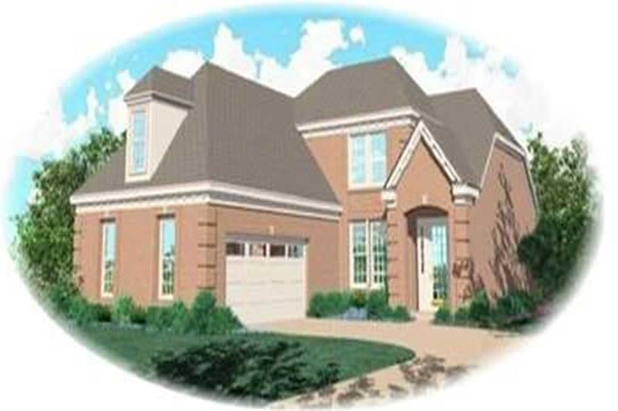 3-Bedroom, 2002 Sq Ft Contemporary Home Plan - 170-3085 - Main Exterior