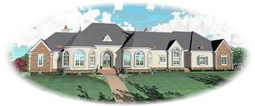 Main image for house plan # 8339