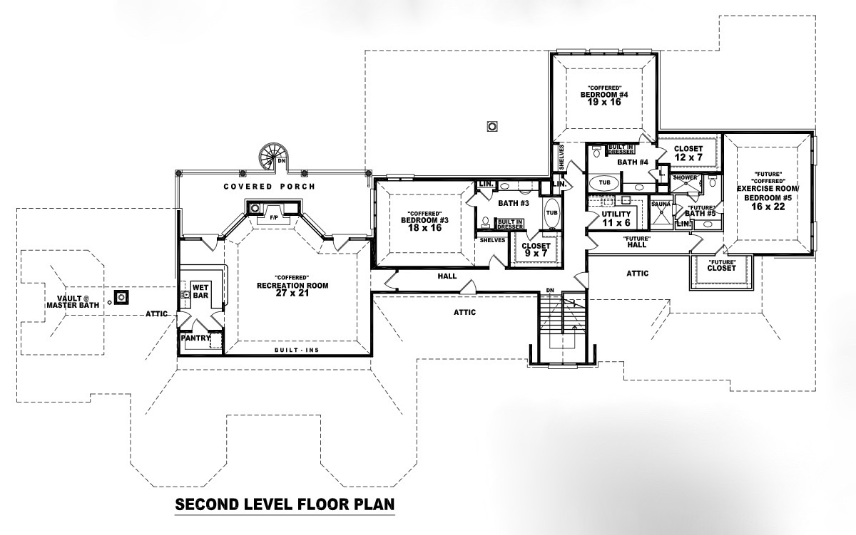 170-3088: Floor Plan Upper Level