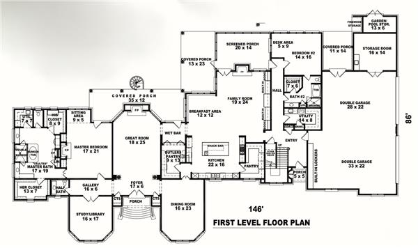 170-3088: Floor Plan Main Level