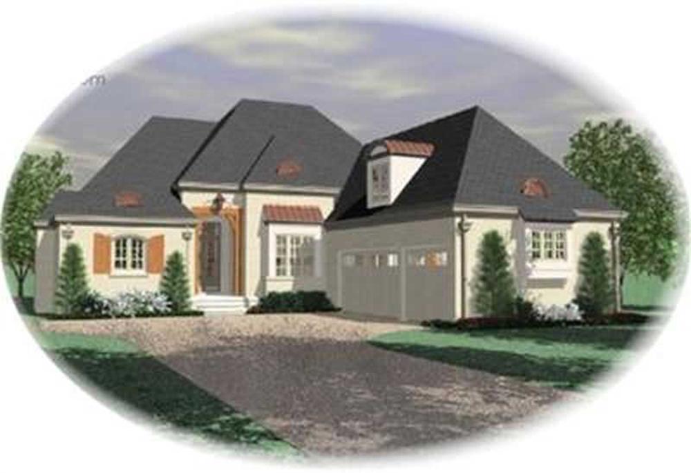 Contemporary home (ThePlanCollection: Plan #170-3089)