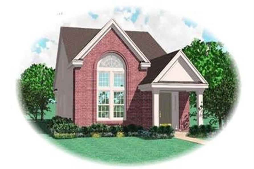 Main image for house plan # 8346