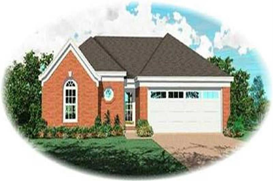 Main image for house plan # 8344