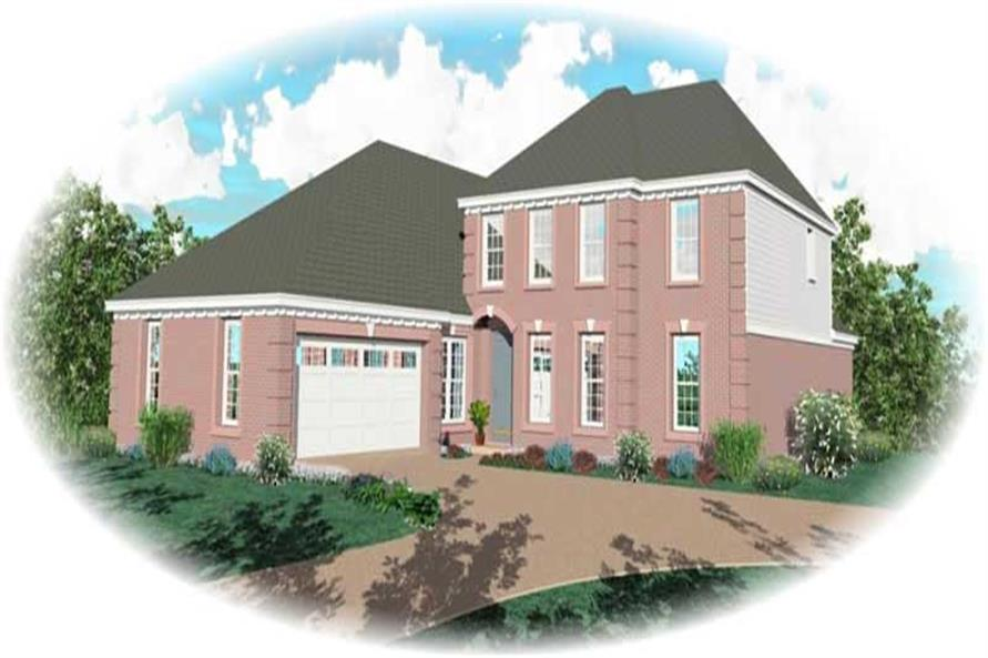 Main image for house plan # 10571