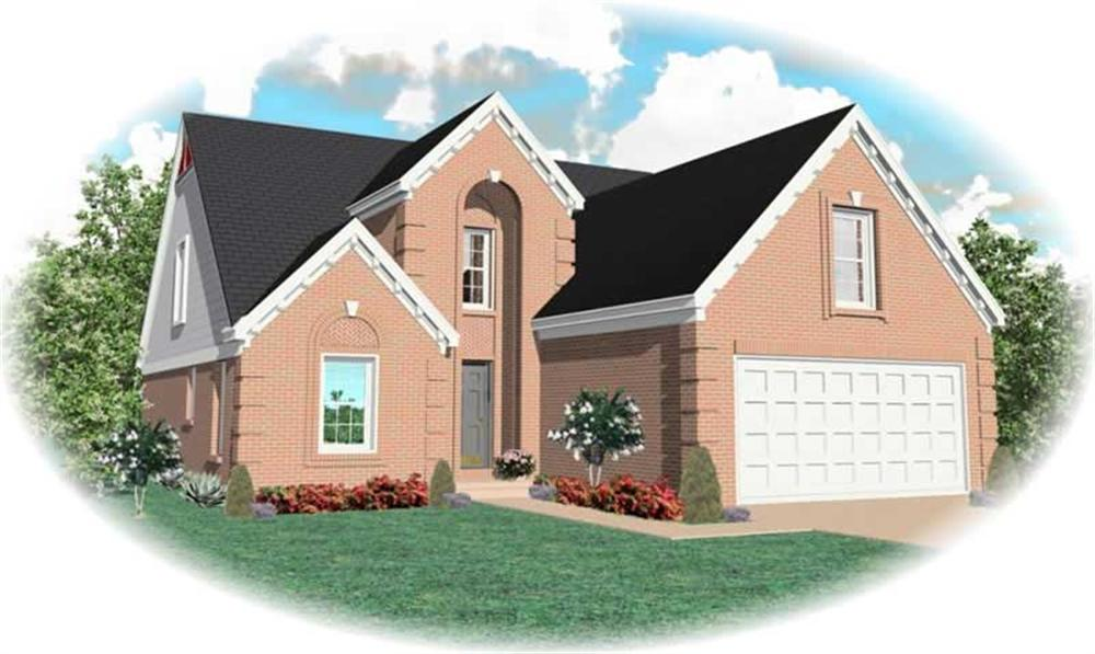 Main image for house plan # 10629