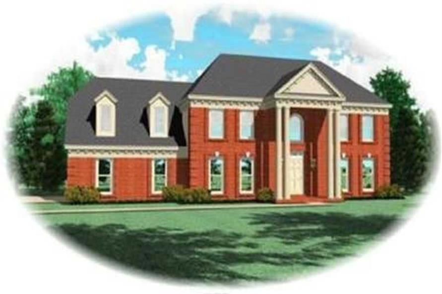 Main image for house plan # 8394