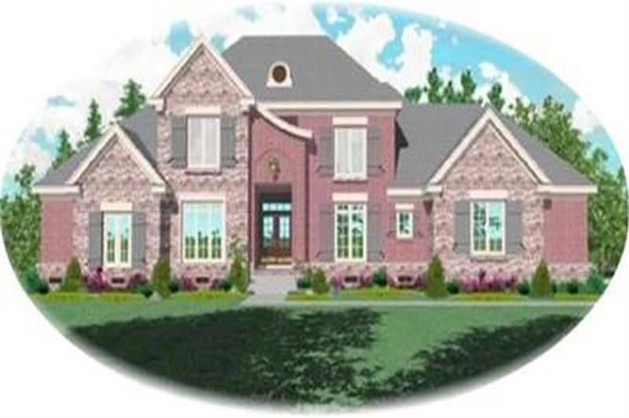Main image for house plan # 8415