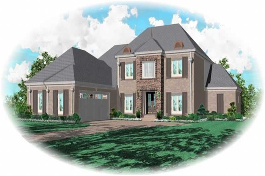 Main image for house plan # 10578