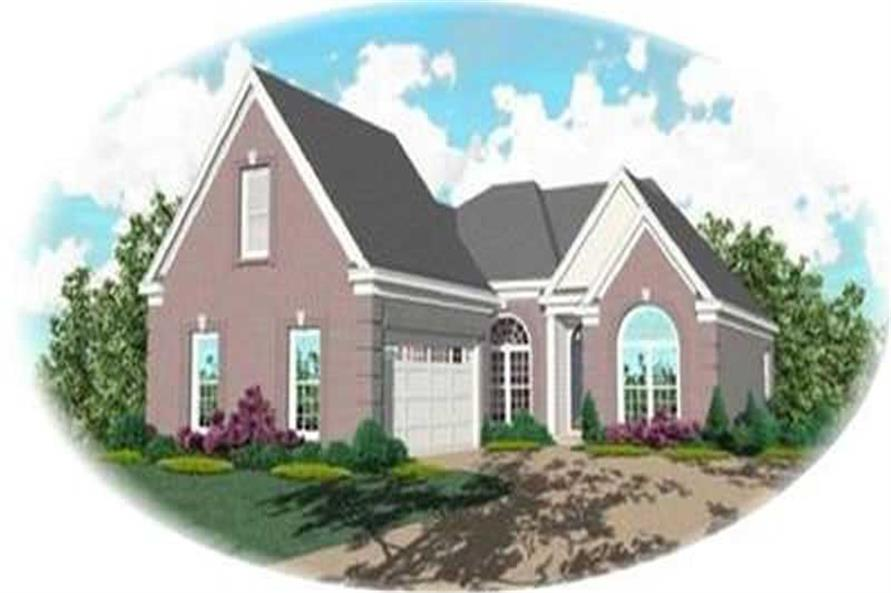 Main image for house plan # 8376