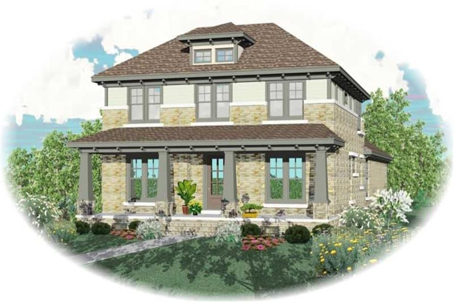 Main image for house plan # 10610