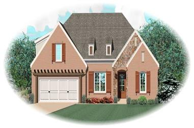3-Bedroom, 3042 Sq Ft Country Home Plan - 170-3133 - Main Exterior