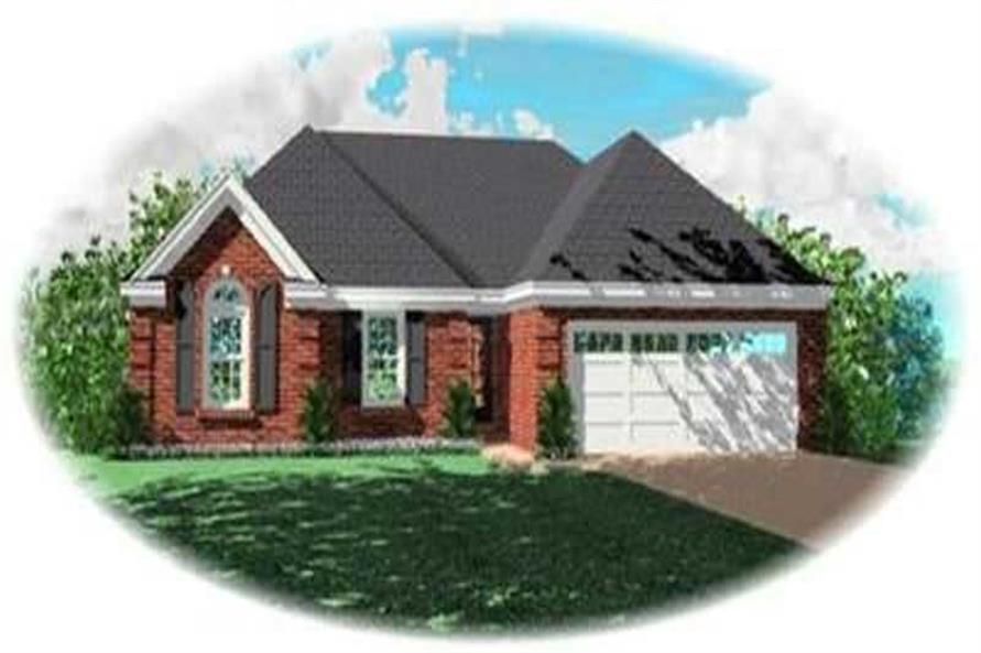 Main image for house plan # 8283