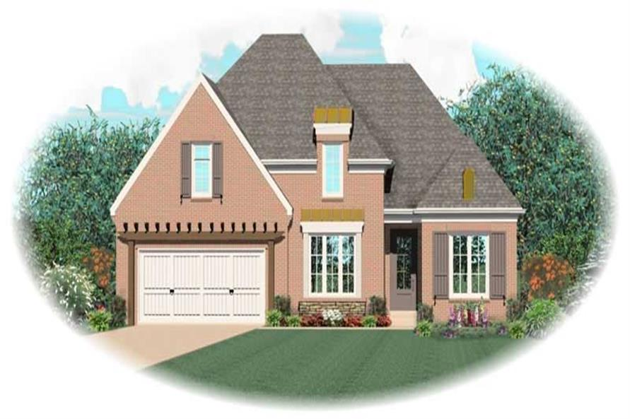 Main image for house plan # 10614