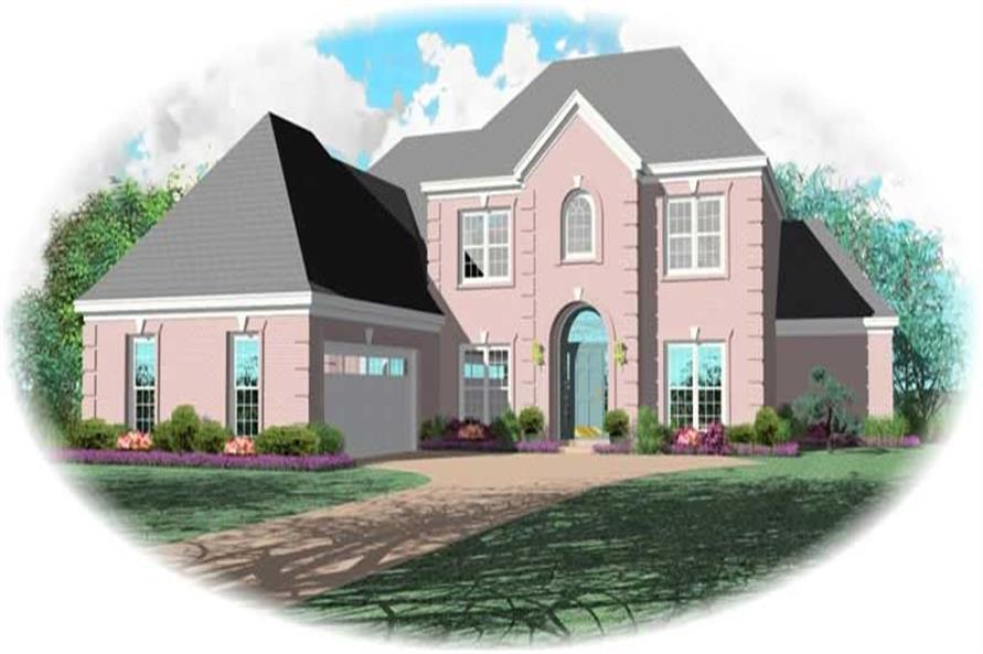 Main image for house plan # 10576