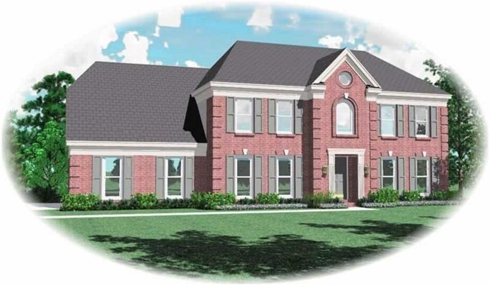 Main image for house plan # 10631