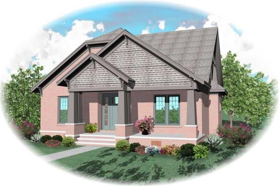 Main image for house plan # 10471