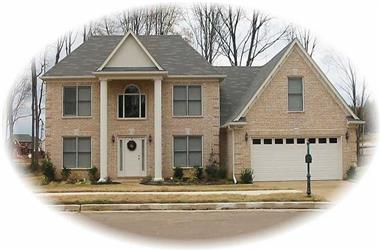 3-Bedroom, 2130 Sq Ft Contemporary Home Plan - 170-3158 - Main Exterior