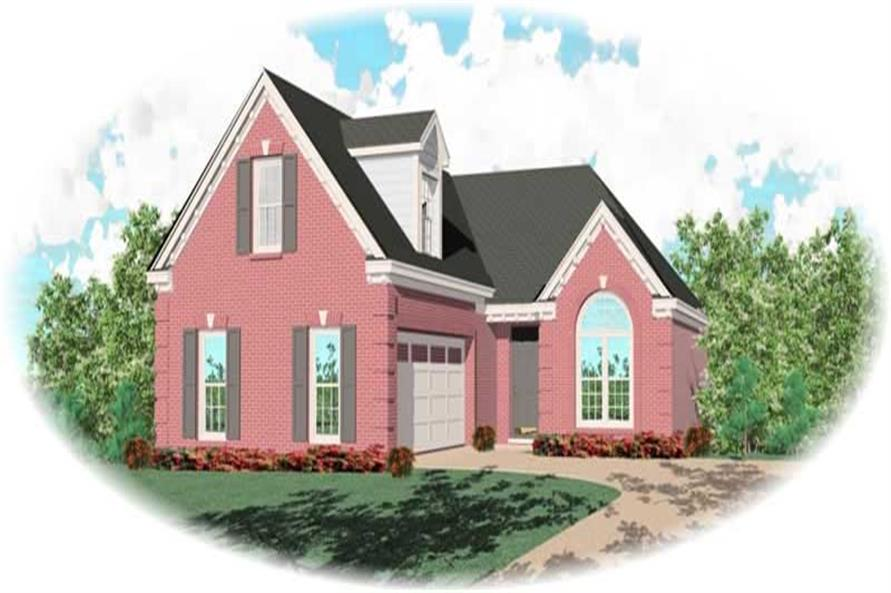 Main image for house plan # 10559