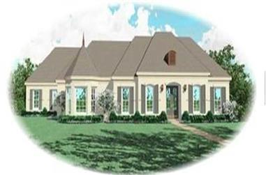 3-Bedroom, 3167 Sq Ft Contemporary House Plan - 170-3169 - Front Exterior