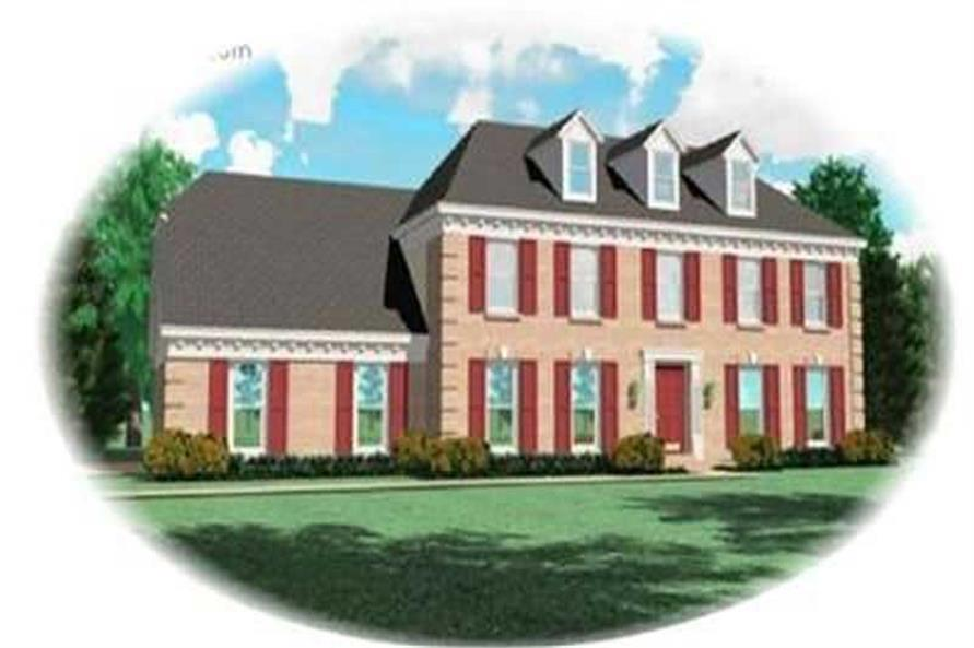 Main image for house plan # 8359