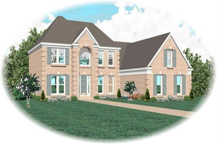 Main image for house plan # 10565