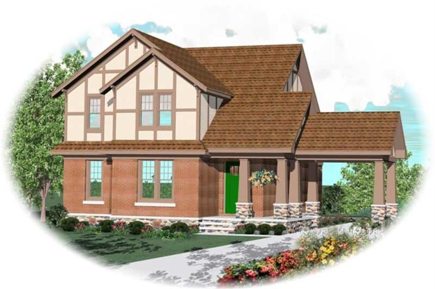 Main image for house plan # 10643