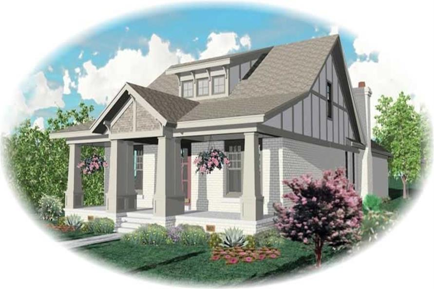 Main image for house plan # 10525