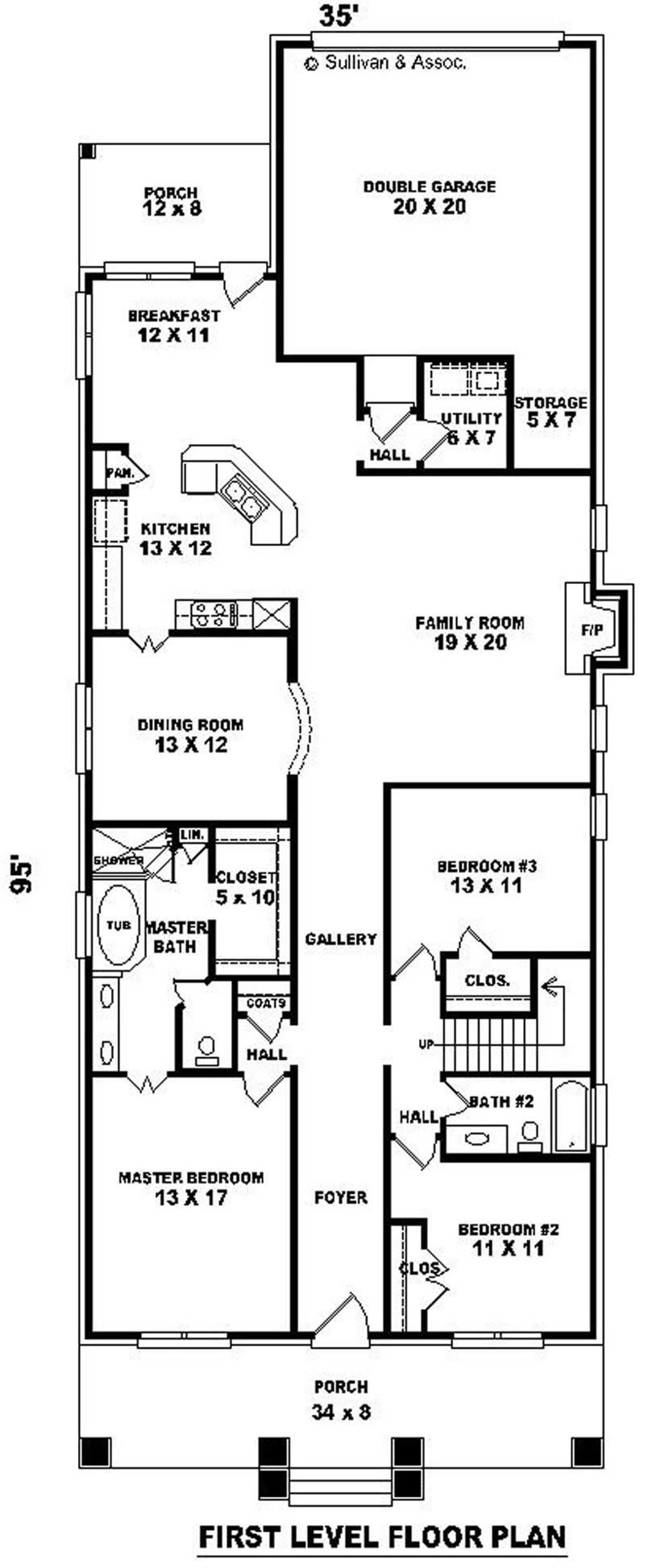 Large Images For House Plan 170 3185