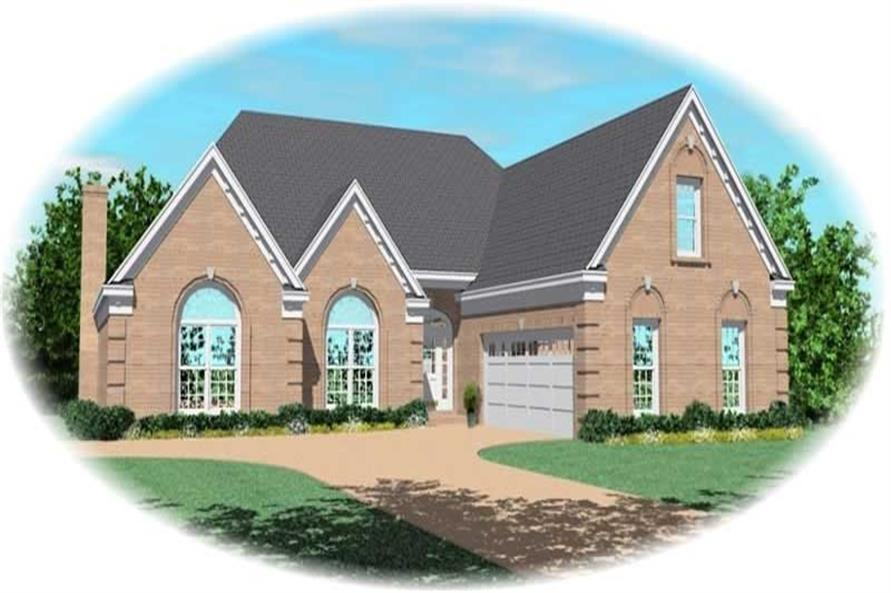 Main image for house plan # 10472