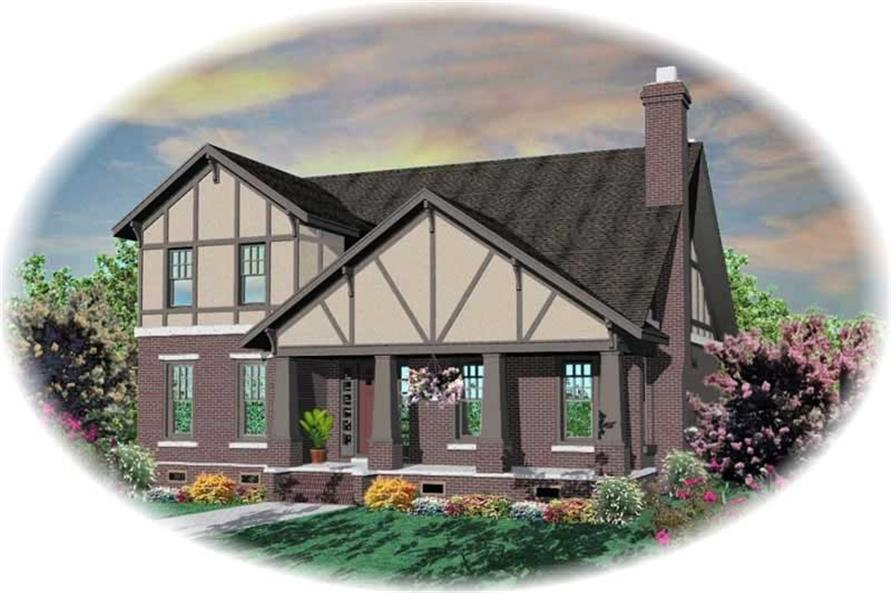 Main image for house plan # 10466