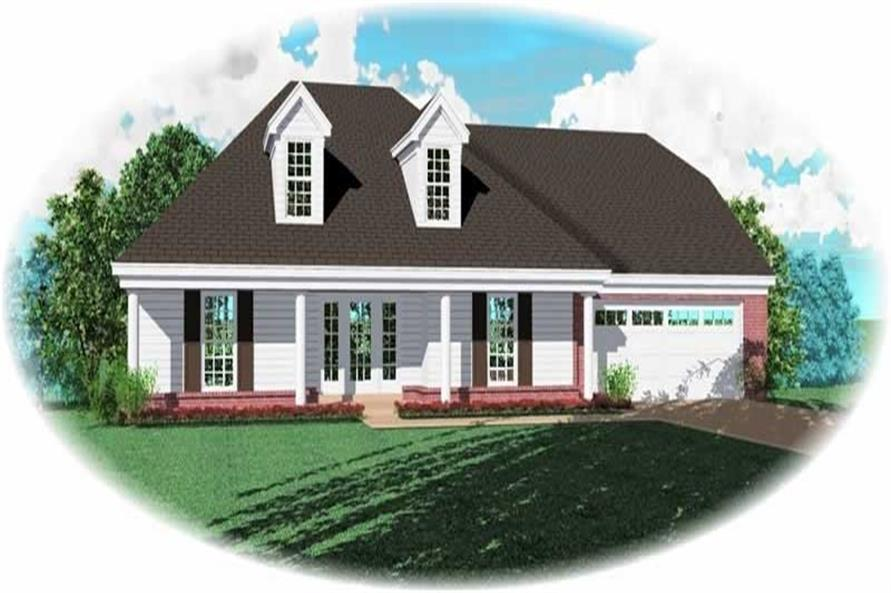 Main image for house plan # 10460