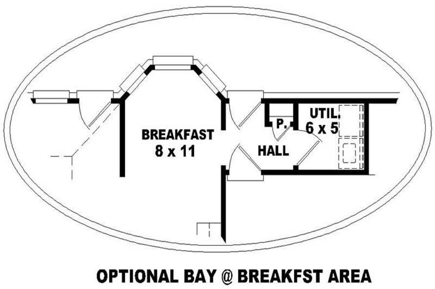 Home Plan Rendering of this 3-Bedroom,1515 Sq Ft Plan -170-3198