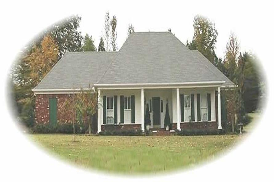 3-Bedroom, 2529 Sq Ft Ranch House Plan - 170-3201 - Front Exterior