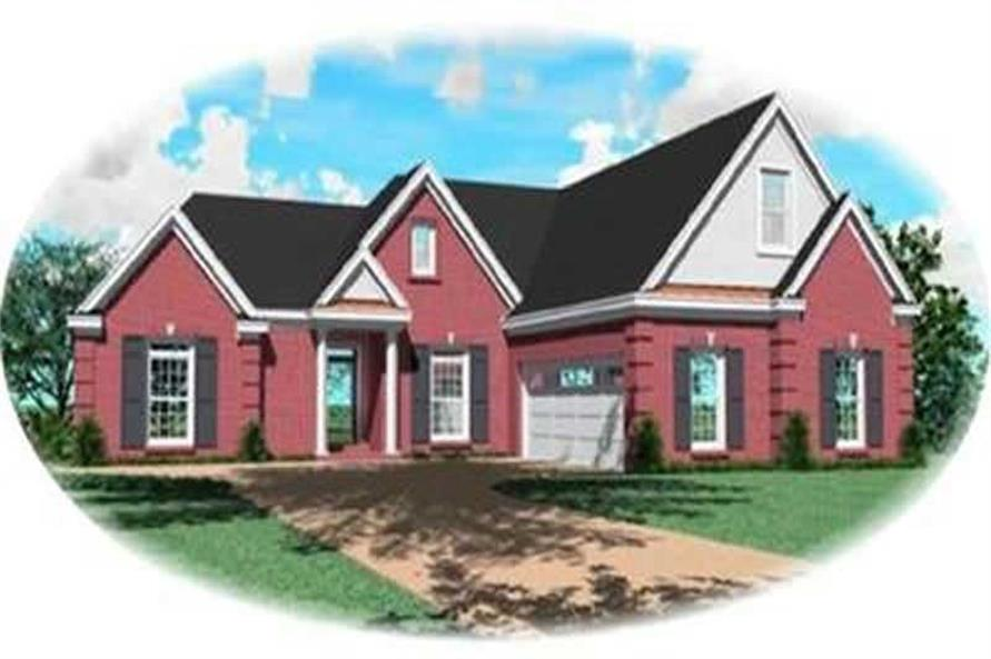 Main image for house plan # 8385